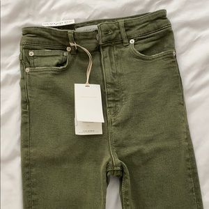 NWT Zara Woman Premium Denim 80s High Waist Skinny